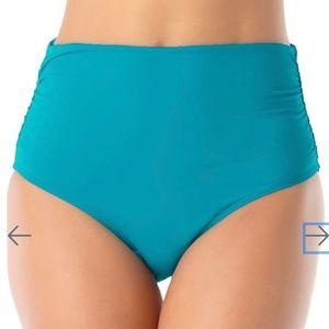 Anne Cole Ruched 3 Way Convertible Bikini Bottoms